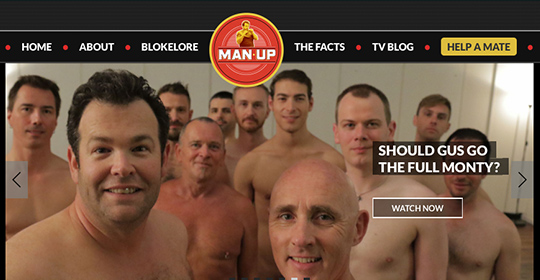 Man up – and break the man rules
