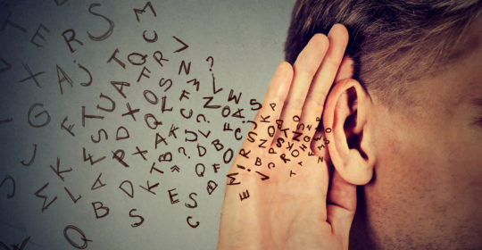 Hearing loss – you can't fake it