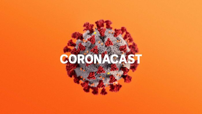 Coronacast podcast from the ABC hosted by Dr Norman Swann